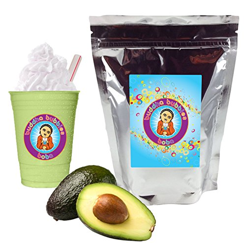 Avocado Fruit & Yogurt Smoothie Mix By Buddha Bubbles Boba 10 Ounces (283 Grams) ()