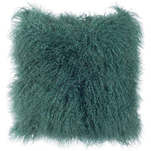 SLPR Mongolian Lamb Fur Throw Pillow Cover  | Real Fur Decor