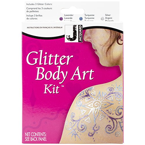 Jacquard Mehndi Glitter Body Art Kit
