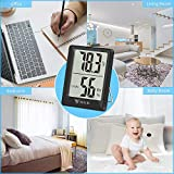 DOQAUS Thermometer Indoor [3 Pack], Mini Digital