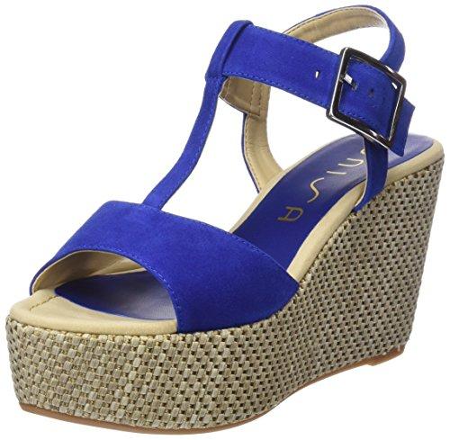 Unisa Luar_KS - Sandalias Mujer Azul