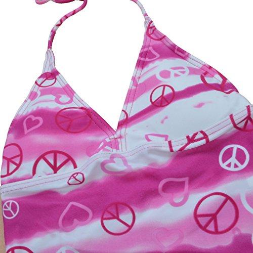 BHL Girls Swimwear 6-16 Years (8-10 Years, Hot Pink)