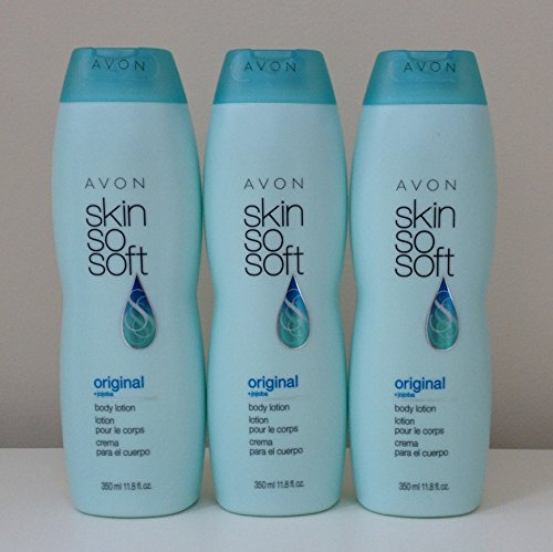 Lot of 3 Avon Skin So Soft Original Body Lotion 11.8 oz. +Jo