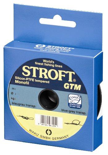 Stroft GTM 100m 0,40mm blaugrau transparent