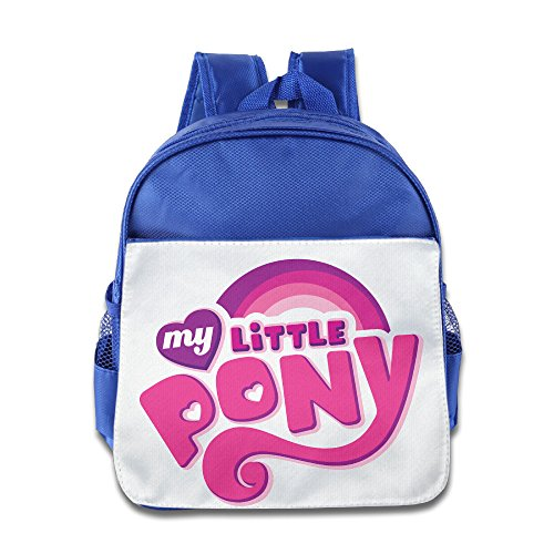 [XJBD Custom Superb My Cute Horse Kids School Bagpack For 1-6 Years Old RoyalBlue] (Super Nerdy Costume)