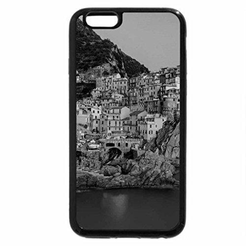 iPhone 6S Plus Case, iPhone 6 Plus Case (Black & White) - Beautiful Monarola