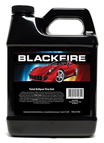 Blackfire Pro Detailers Choice BF-850-128 Total Eclipse Tire Gel, 128 oz.