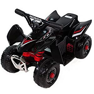 Honda Kids TRX 6-Volt Boys Electric Ride-on Toy - w/ Battery and Charger - Black