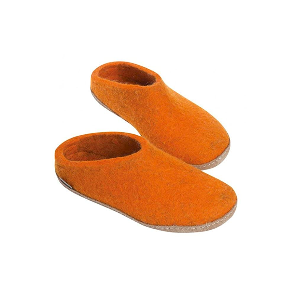 Orange Orange Orange Glerups femmes Slippers Orange 18f