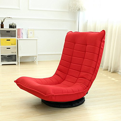 Tatami lazy sofa folding swivel chair removable washable recliner couch-beds-A by Private home textiles (Image #2)