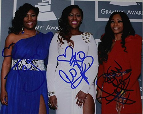 Sisters With Voices SWV Band Signed Autographed Glossy 8x10 Photo - COA Matching Holograms