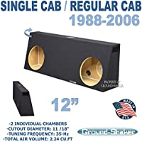 Regular Cab / Single cab 12 dual Subwoofer box