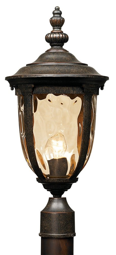 Bellagio Collection 21'' High Bronze Outdoor Post Light