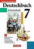 Deutschbuch Gymnasium - Bayern: 7. Jahrgangsstufe - Arbeitsheft mit Lösungen