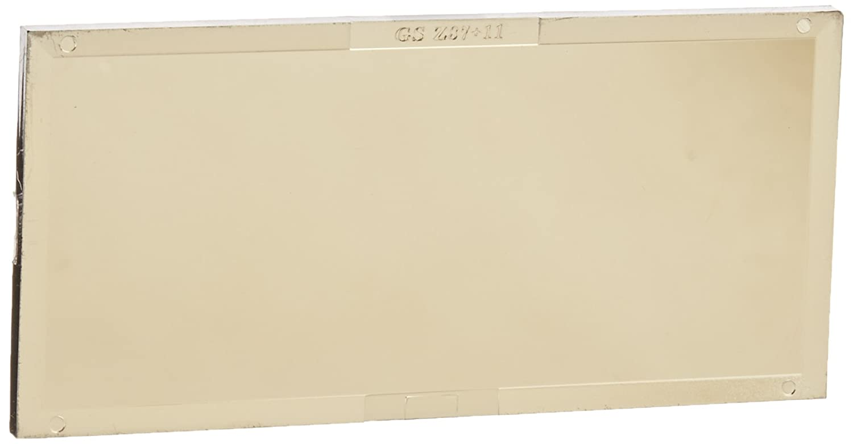 4-1//4 Length x 2 Width Shade 09 Gateway Safety 24U09 Polycarbonate IR Filter Welding Lens