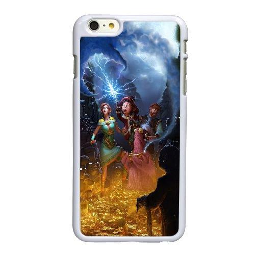 U5C83 le livre de contes non écrites F0P4FK coque iPhone 6 Plus de 5,5 pouces cas de couverture de téléphone portable coque blanche KO5VLK1KX