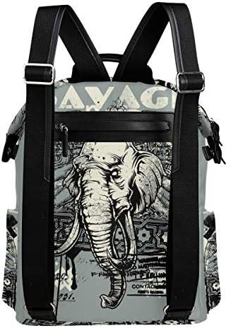 FAJRO Reiserucksack, Elefanten-Design, niedliches Design