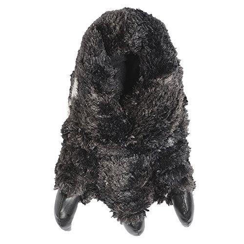 Bruno Galli  97500/ 97501/ 97502,  Herren Durchgängies Plateau Sandalen mit Keilabsatz , Schwarz - Black claw - Größe: 41.5