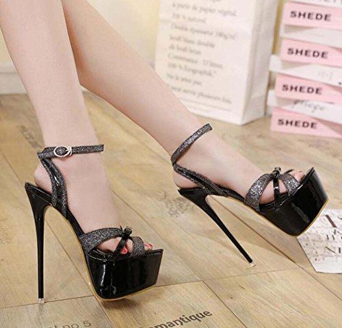 para de Tac Mujer Zapatos Sandalias xPXBHqAB