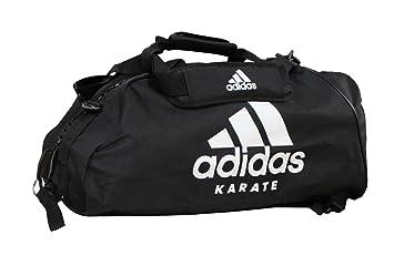 434daa2c426bd adidas Sporttasche - Sportrucksack Karate schwarz Weiss