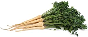 Hamburg Rooted Parsley Seeds - 50 Count Seed Pack - Non-GMO - Parsley Flavored Root and Leaves. Used as a Flavoring in soups and Salads, as a Garnish. - Country Creek LLC