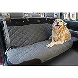 PetSafe Solvit 62446 Premium Extra-Wide Bench Seat Cover, Grey