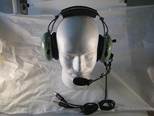General Aviation Headset (David Clark Remanufactured General Aviation Headset GAR76 with Volume Control)