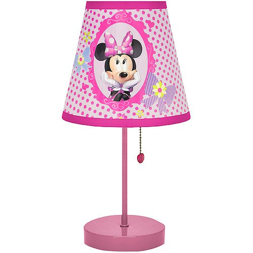 Disney Minnie Mouse Table Lamp for sitting pretty by Generic