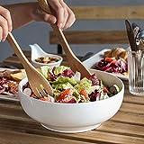 """DOWAN 9.5"""" Large Serving Bowls, 2.8 Quart Big Salad"""