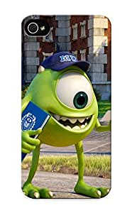 Case Provided For Iphone 5/5s Protector Case Monsters University Eyes Cartoons Phone Cover With Appearance