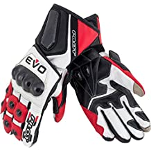 Pilot Motosport EVO Full Length Leather Motorcycle Racing Glove
