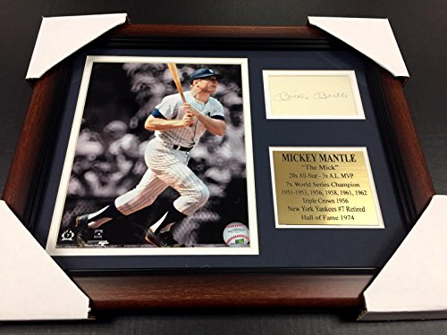 Autographed Mickey Mantle Baseball Cards thumb pic