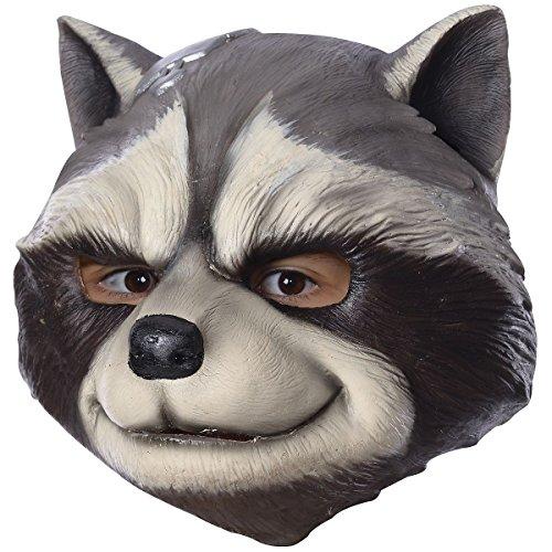 Rocket Raccoon Costume Mask Kids Guardians of The Galaxy Halloween Fancy Dress