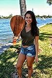 Vero Frescobol American Walnut Wood Paddleball