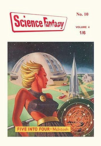 - Vintage science fiction pulp magazine cover art for Science-Fantasy Issue #10 1954 with art by Norman Partidge (1921-2003) Poster Print by Norman Partridge (18 x 24)