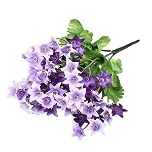 GSD2FF 70 Head Silk Artificial Flower Wedding Flower Spring Simulation Hexagonal Flower Bouquet Home Decor,01 10