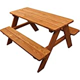 Homeware, Wood Kids Picnic Table