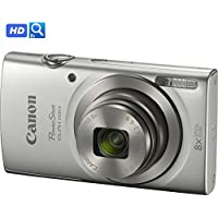 Canon PowerShot ELPH 180 20MP 8x Optical Zoom HD Video Digital Camera (1093C001B) - (Certified Refurbished)