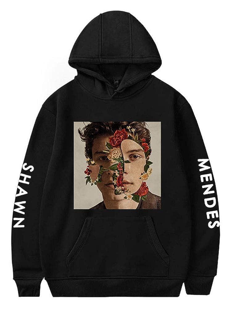 SunnTT Unisex Shawn Fashion Hoodie Pullover Sweatshirt