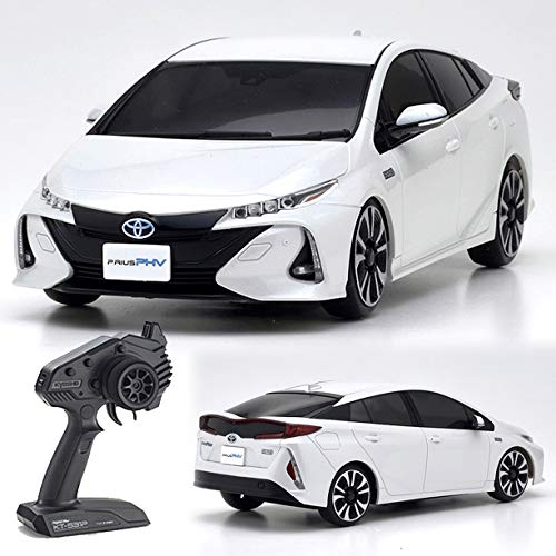 KYOSHO Radio Control Electric Touring Car Mini-Z FWD Series Ready Set TOYOTA PRIUS PHV (White Pearl Crystal Shine) 32423WP【Japan Domestic genuine products】【Ships from JAPAN】