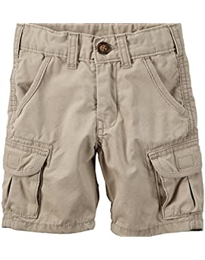 Carter's Baby Boys' Khaki Cargo Shorts (24 Months)