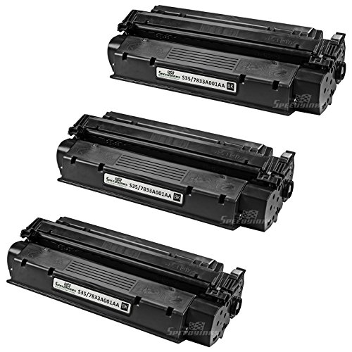 Speedy Inks - 3pk Remanufactured Canon S35 S-35 7833A001AA Toner Cartridge Replacement for Digital Copier ICD-340 ImageClass D320 D340 D383 Canon L170 FX-8