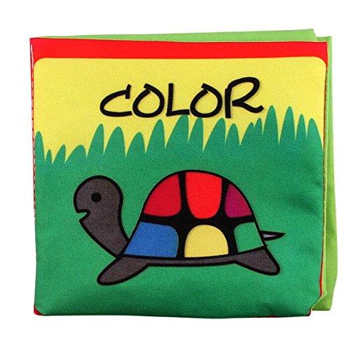 Lytshop Kids Cute Toy Pram Stroller Development Intelligence Crib Various Cloth Book Preschool Toys