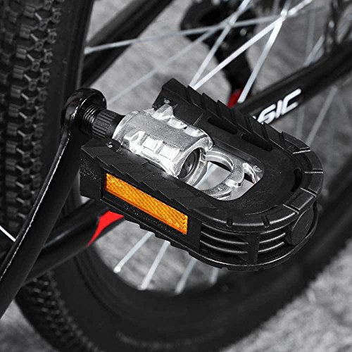 Wosonku Alloy Bicycle Mountain Paired Aluminum Bike Non-slip Folding Pedals Accesseries by MouJi (Image #3)