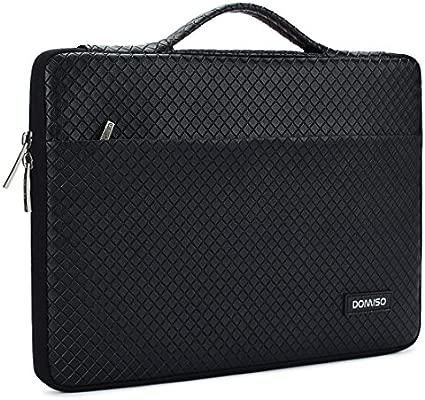 DOMISO 15-15,6 Pulgadas Funda Resistente al Agua Bolsa Protectora para Ordenador Portátil/Apple/Lenovo IdeaPad ThinkPad/Acer Aspire 5 3 Spin 5 / HP ...