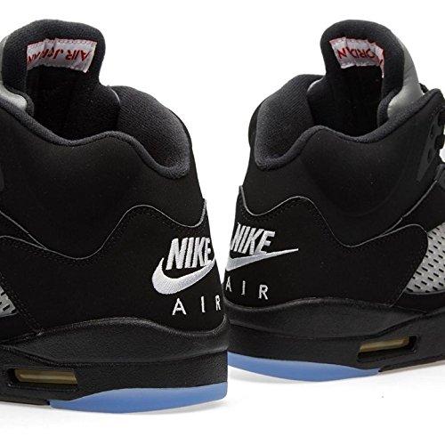 Nike Air Jordan 5 Noir Métallique 2016-845035-003