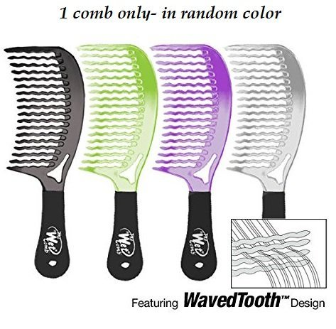 The Wet Comb Detangling Hair Comb - Metallics Collection (Colors May Vary) SFR Products