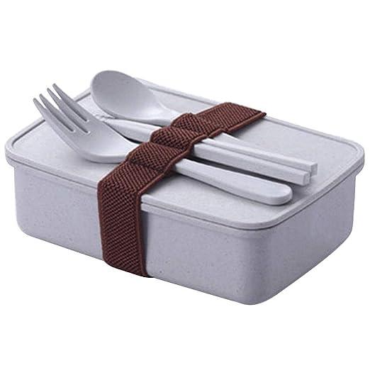 Lonchera portátil contenedor de almacenamiento de alimentos ...
