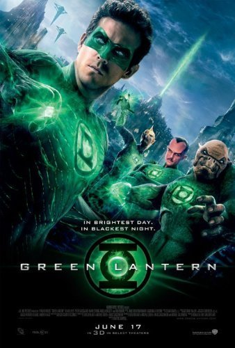 Green Lantern Original Movie Poster Double Sided