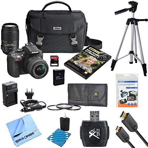 Nikon D5300 DX-Format Digital SLR Camera w/ NIKKOR 18-55mm V